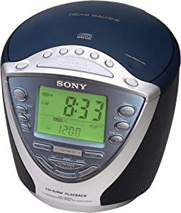 Sony Dream Machine ICF-CD843V CD Clock Radio with Digital Tuner (Discontinued by Manufacturer)