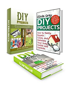 DIY Projects Box Set: Over 40 Surprisingly Effective DIY Home Projects To Home Remodeling, Interior Decorating and Super Cleaning Hacks (DIY projects, interior decorating, home design ideas)
