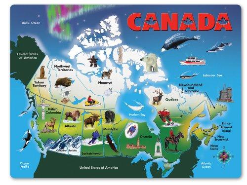 Melissa & Doug Canada Map