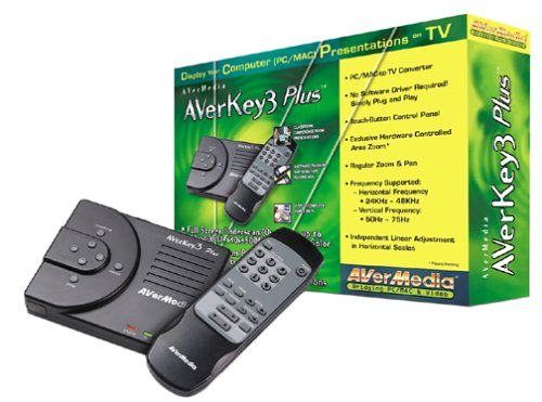 Avermedia Averkey 3 Plus PC/Mac Remote Ctlr 800X600 Graphic-To-Video