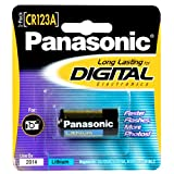 Panasonic CR123 Photo Lithium Battery Single Pack