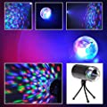 Tsss® RGB LED Crystal Raibow Color 3D Effect Stage Lighting Spot Beam for Home Garden Xmas Christmas Birthday Party Dj Disco Club Lighting Show