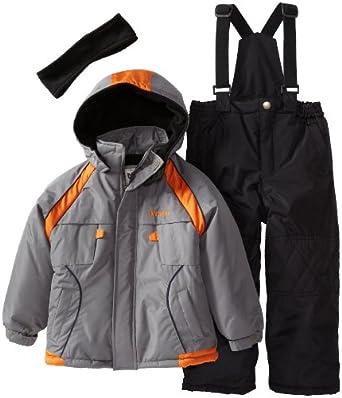 (3折)iXtreme Boys 2-7 Snowsuit男童滑雪服背带裤套装$37.99