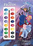Thrills & Chills! (Disney Frozen) (Deluxe Paint Box Book)