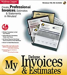 My deluxe invoices estimates amazoncouk software for Deluxe invoices and estimates