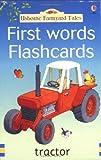 echange, troc Heather Amery - First Words Flashcards