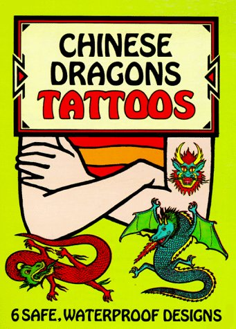 Chinese Dragons Tattoos (Temporary Tattoos)