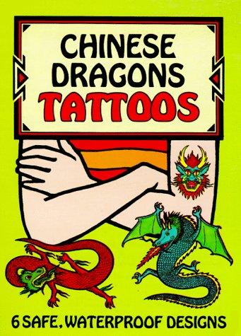 Chinese Dragons Tattoos (Temporary Tattoos)