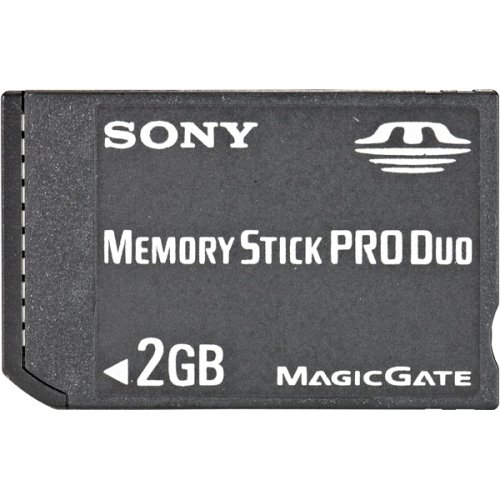 Sony 2 GB Memory Stick PRO Duo Flash Memory Card MSX-M2GS