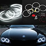 AUDEW 4x CCFL Angel Eyes Halo Rings Waterproof Led Light Lamp for BMW E36 E39 E46 HID Xenon White