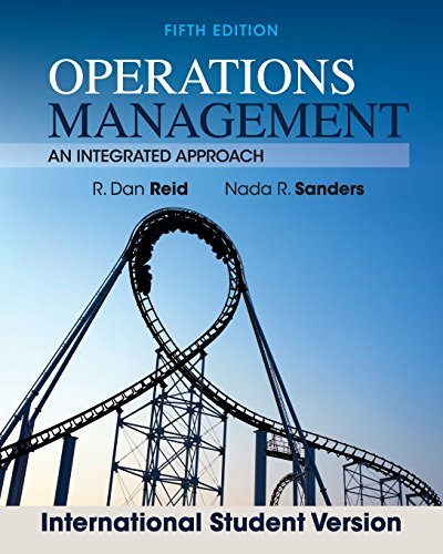 Operations Management: An Integrated Approach (Revised)