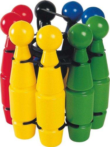 Partner 5044 - Juego de bolos (9 bolos de 25 cm + 2 bolas)