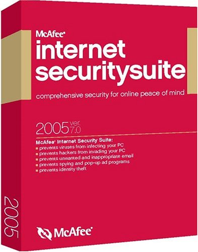 McAfee Internet Security 2005 7.0 [VirusScan, Firewall, Spamkiller, Privacy, Parental Controls]