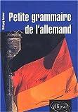 echange, troc Wolfgang Hammel - Petite grammaire de l'allemand