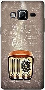 DigiPrints Designer Back Cover for Samsung Z2-Multicolor