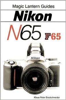 nikon n65/f65: klaus peter bredschneider: 9781883403898