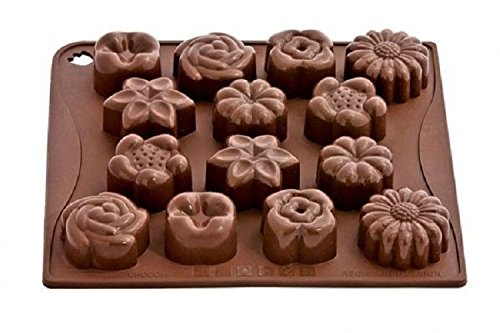Pavonidea - Flower Bouquet Chocolate Ice Mould