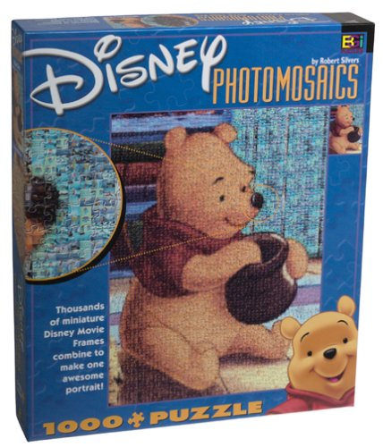 Cheap Buffalo Games Disney Photomosaic Winnie the Pooh Jigsaw Puzzle 1026pc (B0000658LN)