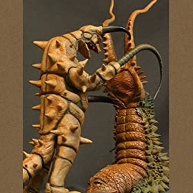X-PLUS 大怪獣シリーズ 「グドン対ツインテール 夕焼けVer.セット」 少年リック限定商品