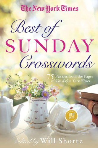 The New York Times Best of Sunday Crosswords: 75 Sunday Puzzles from the Pages of The New York Times (New York Times Best Books Of 2014 compare prices)
