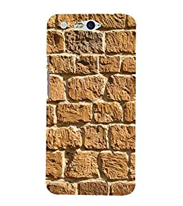 Beautiful Rock Wall 3D Hard Polycarbonate Designer Back Case Cover for In Focus M812 :: InFocus M 812