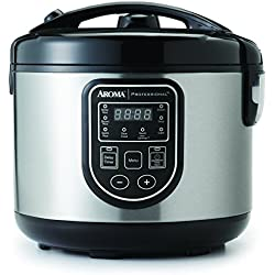 Aroma Housewares ARC-980SB Rice Cooker/Multi Cooker, Black