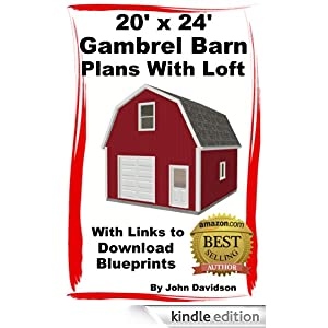 Download 20 x 24 gambrel shed plans ~ Goehs