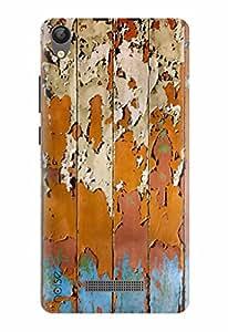 Noise Designer Printed Case / Cover for Lava P7+ / Patterns & Ethnic / Wood Design