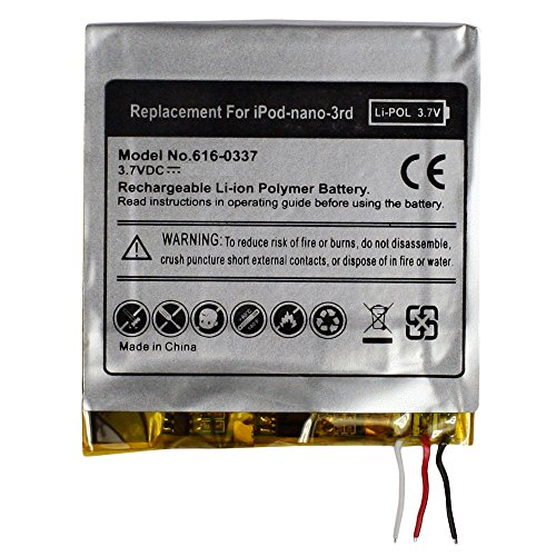 Fenzer Replacement Rechargeable Battery for Apple iPod Nano 3rd 3 Gen Generation (Battery For Ipod 3 Generation compare prices)