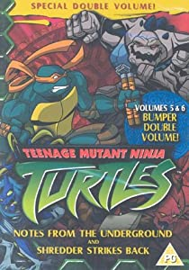 Teenage Mutant Ninja Turtles, Vol. 5 Notes from The Underground / Vol. 6 Shredder Strikes Back [DVD]