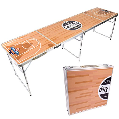 Cant-Stop-Party-Supplies-Portable-Tailgating-Beer-Pong-Table-Easily-Foldable-Choose-Your-Design