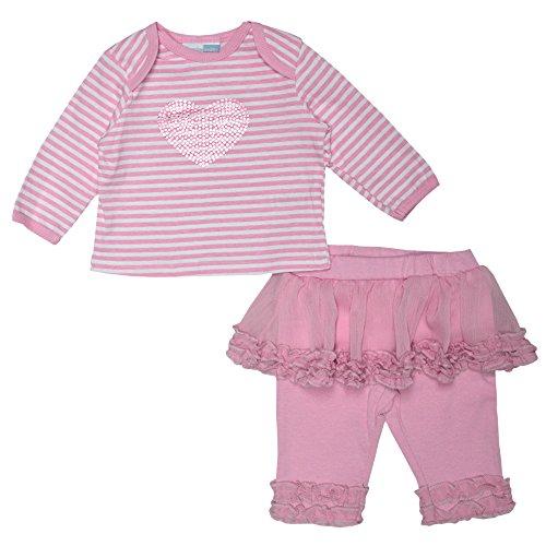 Vitamins Baby Baby-Girl Months Heart Tutu Leg Set (Newborn, Pink)