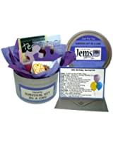 18th Birthday Survival Kit In A Can. Novelty Fun Gift - Humorous Happy 18th Present & Card All In One. Customise Your Can Colour. (Purple/Lilac)