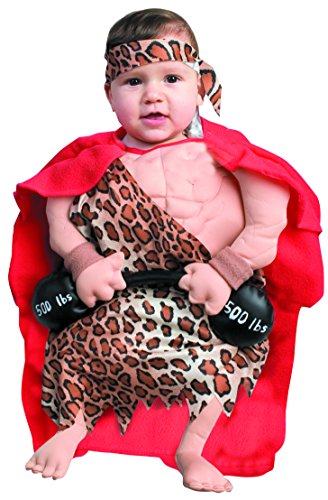 Forum Novelties Baby Boy's Mini Muscle Man Bunting Costume
