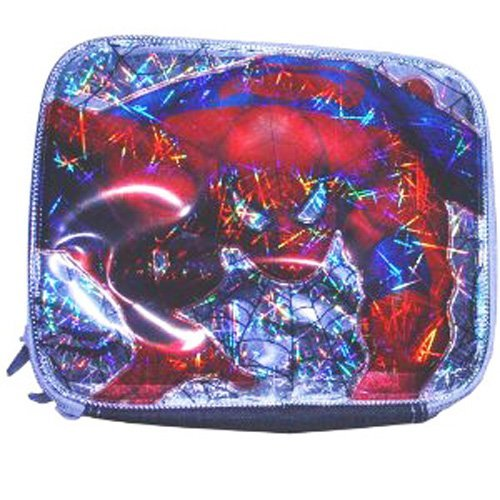 "Spiderman Black ""Spider Sense"" Lunch Bag - 1"