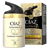 Olaz Total Effects 7-in-1 CC Cream, dunklere Hauttypen,...