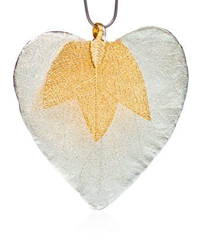 Ana Natural Leaves Conjunto 44 Oro / Plata