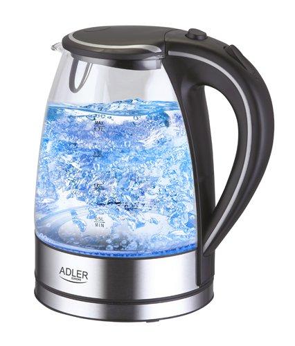adler-bouilloire-en-verre-et-acier-inoxydable-avec-led-bleu-integree-17-l-2000-w