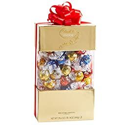 Lindor 70 Piece Gift Box, Assorted Chocolate, 29.6 Ounce