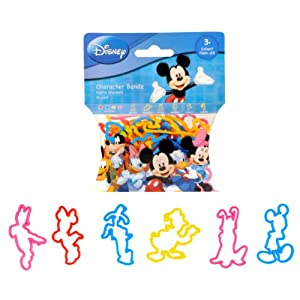 Disney Mickey and Friends Mickey and Friends Logo Bandz (Pack Of 24)