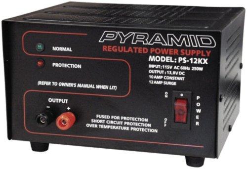 Pyramid Ps12Kx 10 Amp 13.8-Volt Power Supply