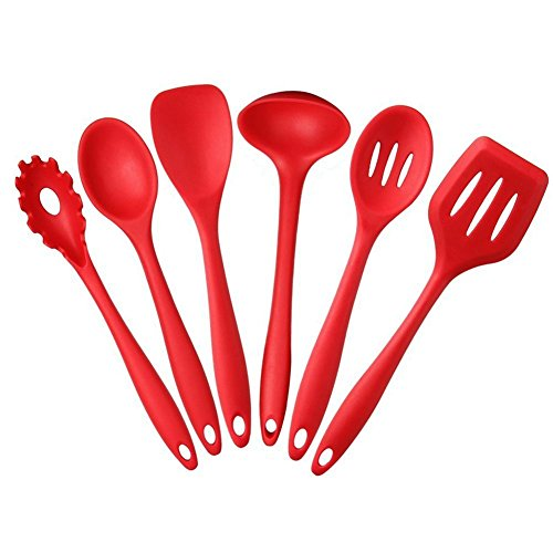 mftek-6-pcs-silicone-kitchen-cooking-utensil-set-noodle-spoon-soup-spoon-slotted-spatulla-slotted-sp