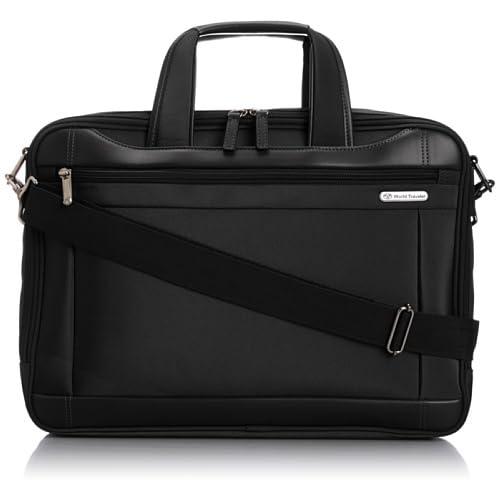 [ワールドトラベラー] World Traveler ワールドトラベラー ライリー ビジネスバッグ 43481 01 (ブラック)
