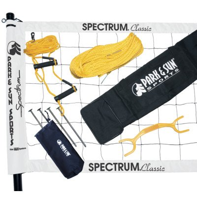 Spectrum Classic Volleyball Set Color: White