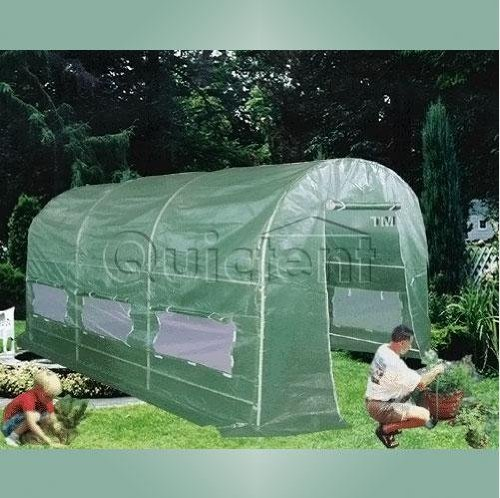 12′ X 7′ X 7′ Portable Greenhouse Large Walk-in Green Garden Hot House