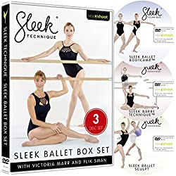 SLEEK TECHNIQUE - Ballet Body Box Set (3 DVD's)