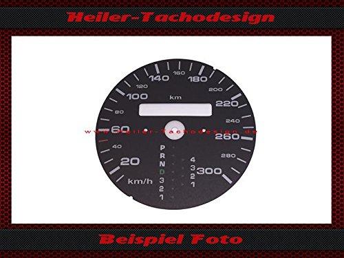 Tachoscheibe Porsche 911 964 993 Automatic Km/h