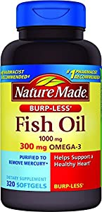 Nature Made Fish Oil Burp-less Softgel