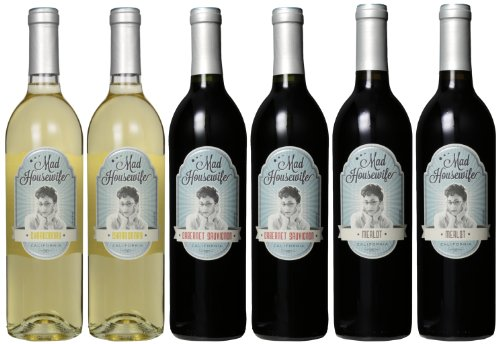 Mad Housewife It's Just Wine Darling Mixed Pack, 6 x 750mL image