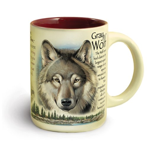 Animal Mug - Gray Wolf Mug